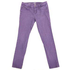 Loft Modern Skinny Lavender Ankle Jeans 8